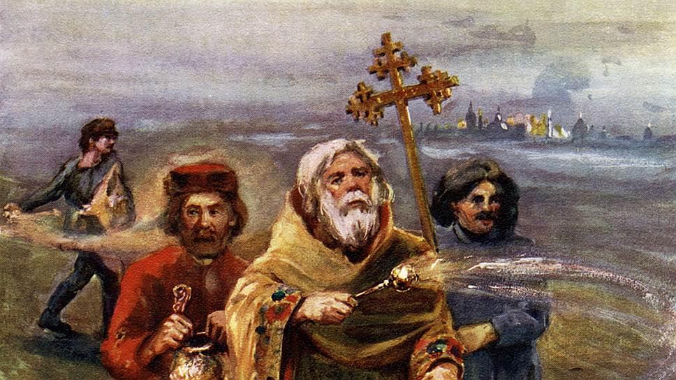После реформы, проведенной при Николае I, служителям церкви стали платить зарплату, но запретили брать деньги за исполнение треб