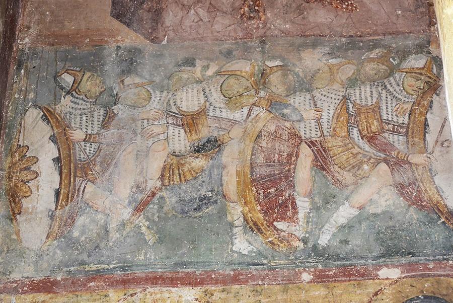 Воины у гроба Христа