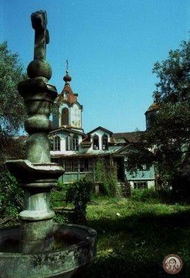 Русская келлия Креста Господня на Афоне. Современное фото