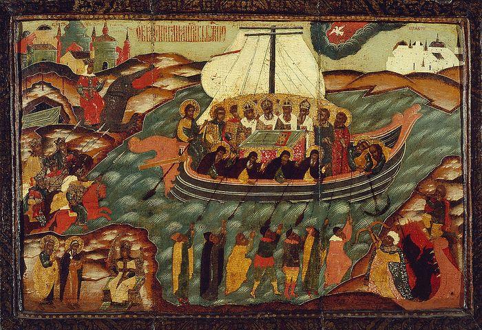 Икона 'Корабль веры'
