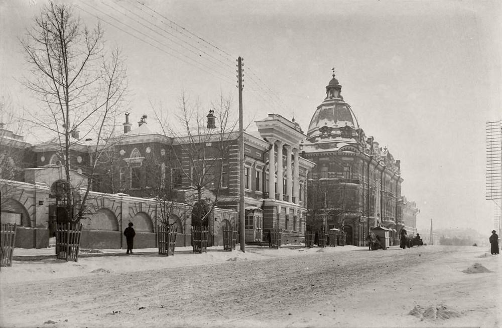 Вид Томска. Начало ХХ века