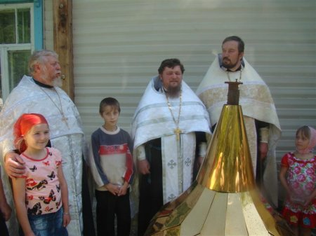 В селе Усть Тарка создается православный приход