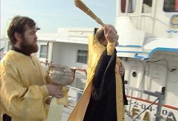 Святой Андрей Первозванный» отправился в 13-й рейд