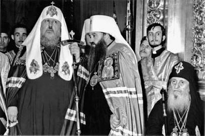 Интронизация Патриарха Пимена