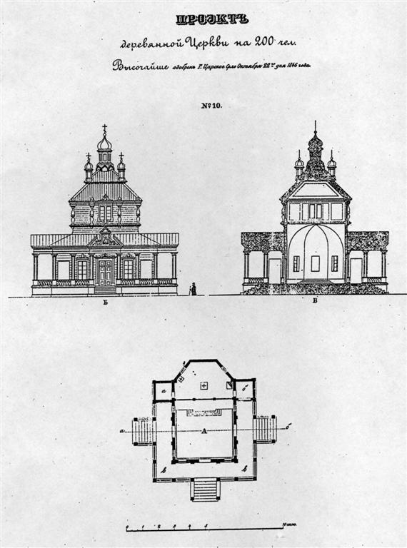 строительства церкви