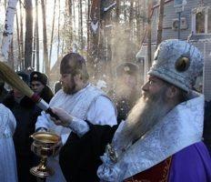 Новосибирские милиционеры попросили правящего архиерея освятить часовню