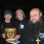 Поздравление от настоятеля Храма Св. Духа Сошествия Игумена Сергия (Рыбко) рокерам