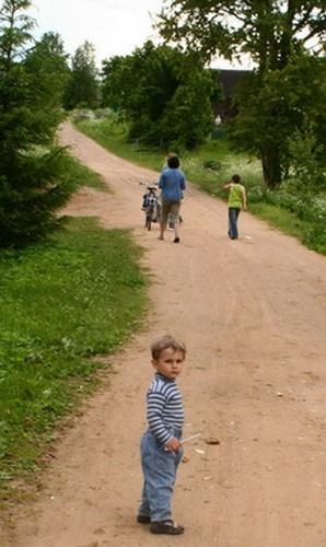 На дороге. Фото Даниила Михайлова