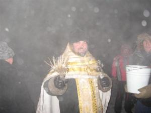 18 января в м/р Ложок состоялся Крестный ход на Святой ключ
