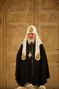 Слово Святейшего Патриарха Кирилла на встрече с ветеранами Великой Отечественной войны в Храме Христа Спасителя