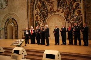 В Храме Христа Спасителя состоялась встреча Предстоятеля Русской Православной Церкви с ветеранами Великой Отечественной войны