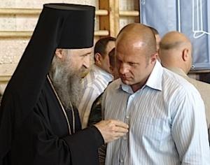 Абсолютный чемпион мира по боям без правил Федор Емельяненко призвал молодежь укреплять православный дух