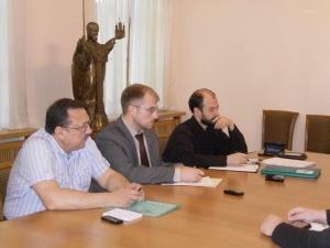 В Общецерковной аспирантуре и докторантуре имени святых равноапостольных Кирилла и Мефодия состоялось первое заседание рабочей группы по выработке концепции магистерской программы