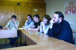 Состоялось отчетное заседание Научного студенческого общества исторического факультета ПСТГУ