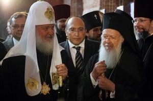 Патриархи Кирилл и Варфоломей обсудили подготовку к созыву Всеправославного собора