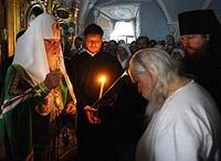 Святейший Патриарх Кирилл совершил монашеский постриг протоиерея Аркадия Шатова