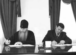 Архиепископ Новосибирский и Бердский Тихон: «Спорт несовместим с пороком»