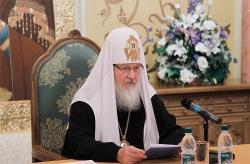 Предстоятель Русской Православной Церкви встретился со слушателями Высших дипломатических курсов Дипломатической академии МИД РФ
