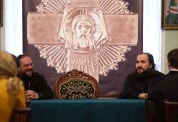 Молодежная делегация Русской Зарубежной Церкви посетила Московскую духовную академию