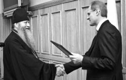 Владыка награжден медалью