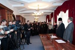 Соглашение о сотрудничестве между министерством образования, науки и инновационной политики Новосибирской области и Новосибирской Епархией Русской Православной Церкви в сфере образования и духовно-нравственного воспитания детей и молодёжи