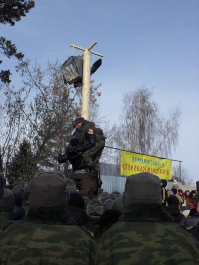 Областной масленичный фестиваль прошел в Коченево