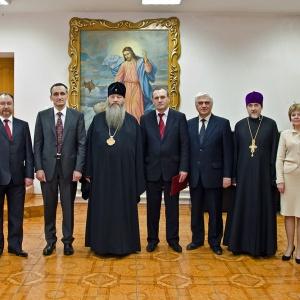 Подписано соглашение о сотрудничестве между Новосибирской Епархией Русской Православной Церкви и Управлением Федеральной Миграционной службы