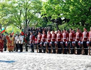 В Болгарии освятили боевые знамена