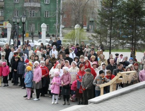 30 апреля – 2 мая проходил VII Пасхальный фестиваль звонарского искусства Сибири
