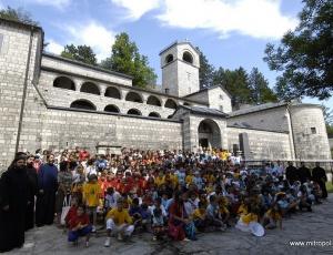 В Черногории прошел XII Православный детский собор
