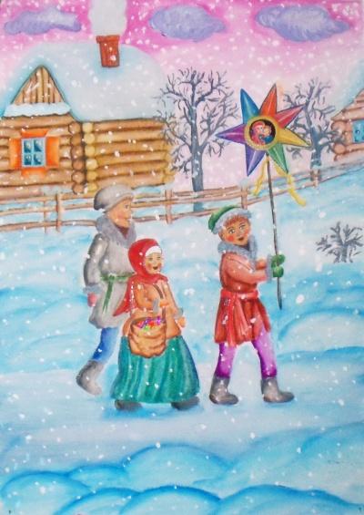 Победители областного Рождественского фестиваля в номинации «Изобразительное искусство»