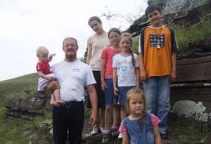 В гостях у многодетной семьи. Дети - это Божье благословение.