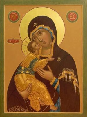 Престольный праздник в приходе в честь иконы Пресвятой Богородицы Владимирская