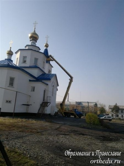 В г. Татарске готовятся к престольному празднику