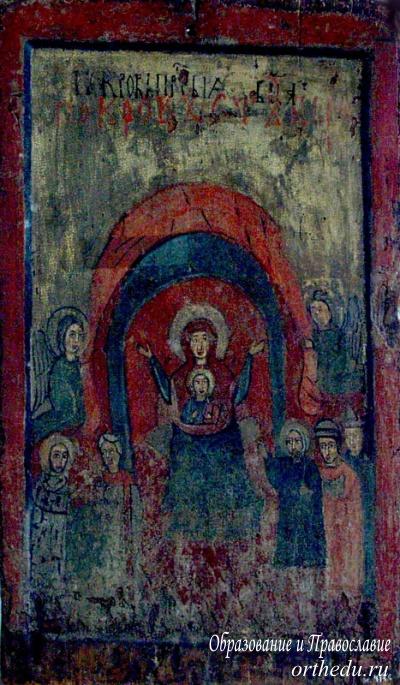 Древнейшая икона Покрова