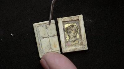 Иерусалимские археологи нашли христианскую икону 7 века