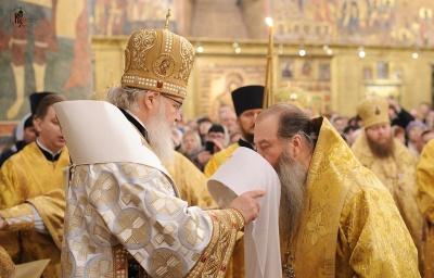 Архиепископ Тихон возведен в сан Митрополита