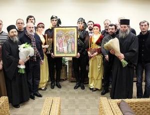 В Москву с Афона прибыла икона новомучеников и исповедников