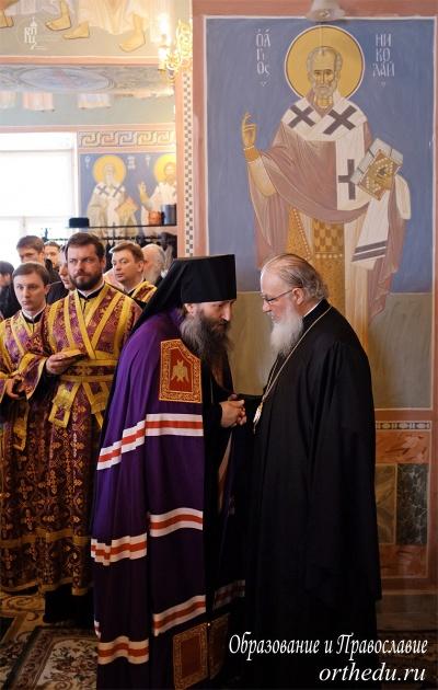 Хиротония архимандрита Филиппа (Новикова) во епископа Карасукского