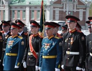 12 мая состоялся парад кадетских корпусов Сибирского федерального округа