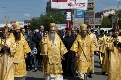 Традиционный крестный ход, посвященный дню славянской письменности и культуры