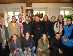 Нидерландская рок-группа прибыла в гости к игумену Сергию (Рыбко) и его приходу
