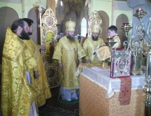 Праздник Первоверховных Апостолов Петра и Павла в Чингисах