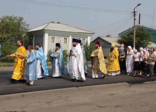 100 летие Казанской иконы Пресвятой Богородицы в городе Татарске