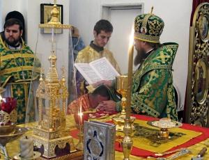 Первая хиротония в Карасукской епархии
