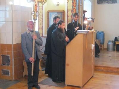 20 сентября состоялось Великое освящение храма Покрова Пресвятой Богородицы с. Завьялово
