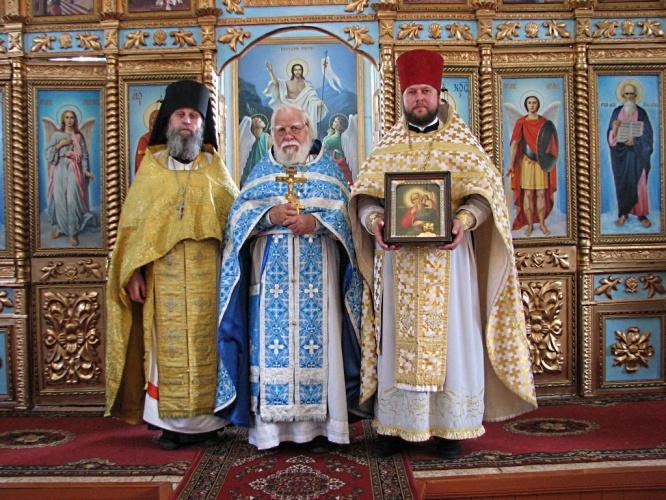 Престольный праздник в храме св. апостола Иоанна Богослова в Здвинске.