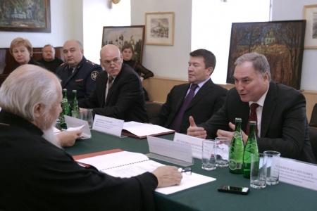 Заседание Рабочей группы Государственного антинаркотического комитета и Русской Православной Церкви