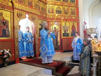 Праздник Покрова Пресвятой Богородицы в Иоанно-Предтеченском епархиальном мужском монастыре