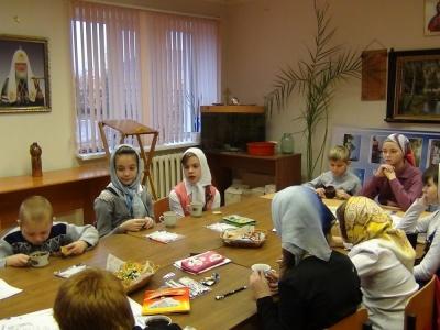 Воскресная школа в Карасукской епархии